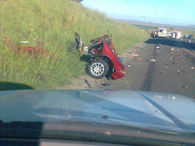 N3 accident leaves five injured and seven dead