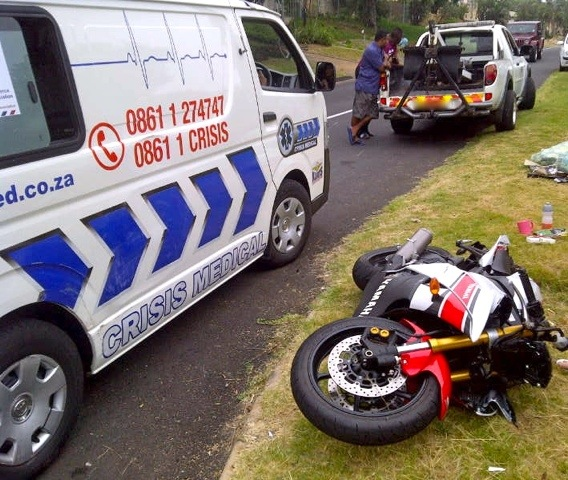 Motorcyclist Seriously Injured In Umhlanga Accident