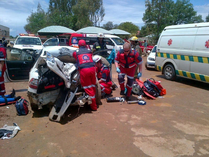 Two women critically injured in N12 collision