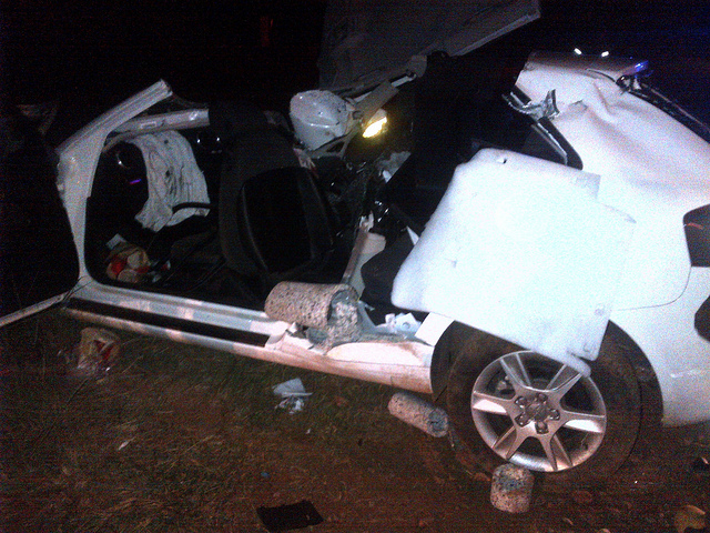 Thirteen injured in R501 collision