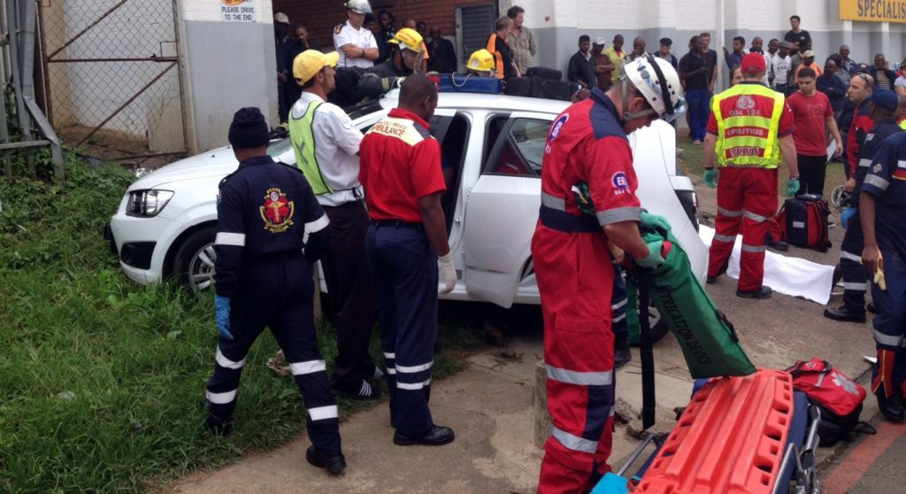 Woman and two men injured in PMB collision