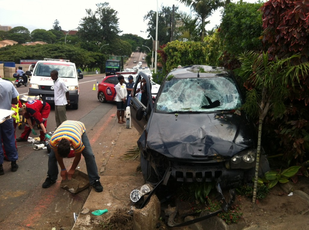Pedestrians In Critical Condition After Pinetown Collision