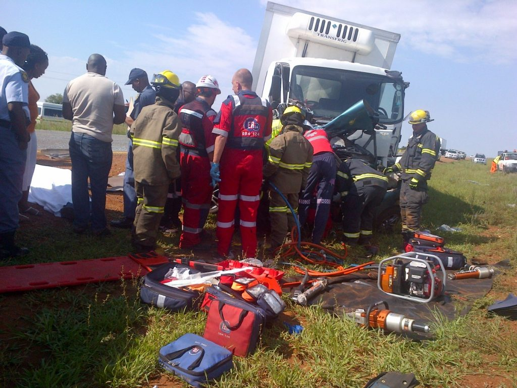 Four Dead, One Airlifted On N12 Accident Near Potchefstroom