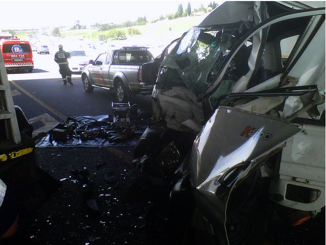Fatal accident on the N3 at Linksfield bridge