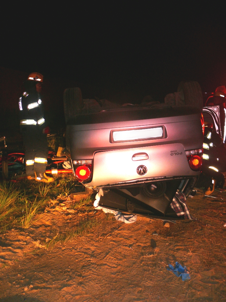 Photos from tragic accident on Cedar Road, Fourways