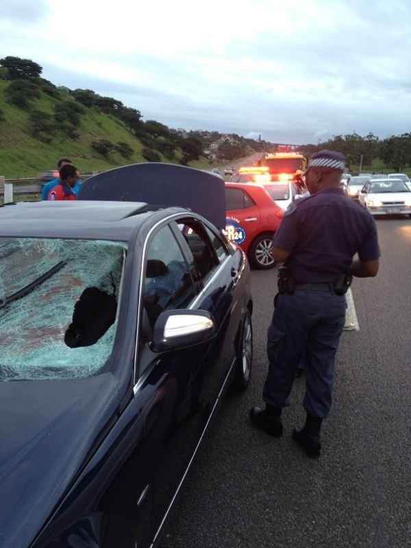 Pedestrian Killed On The N2 Near Umgeni Road