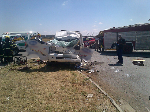 Man killed and three others injured in truck accident