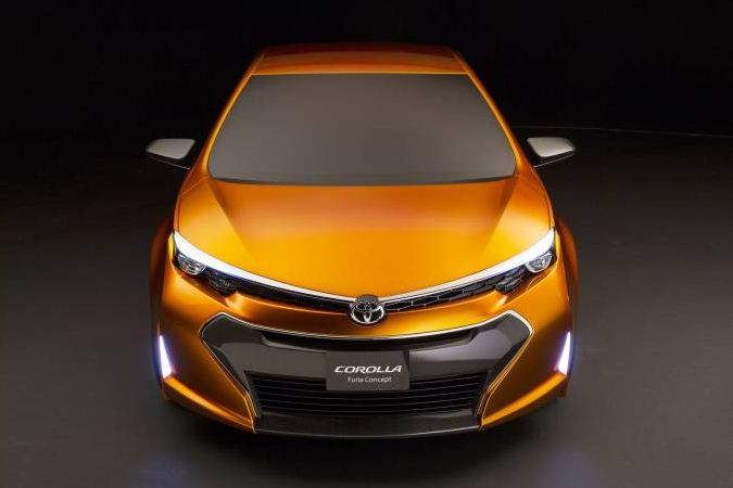 Corolla Furia concept hints at forthcoming new model