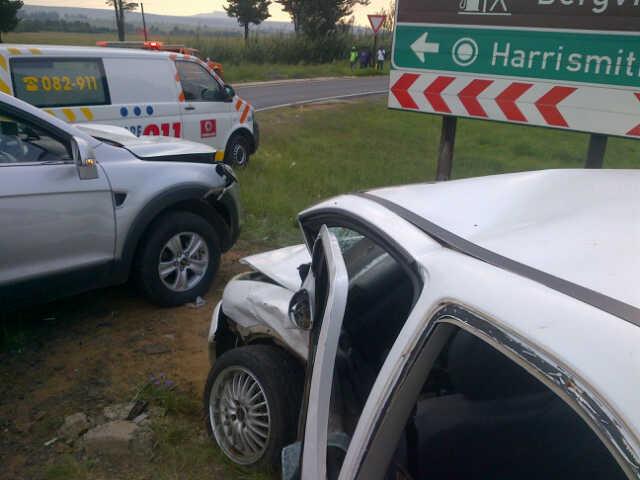 Harrismith accident leaves three injured