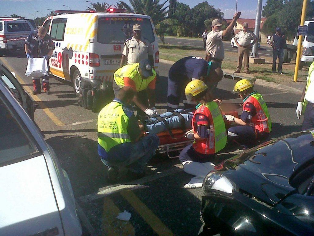 Bloemfontein crash leaves two seriously injured
