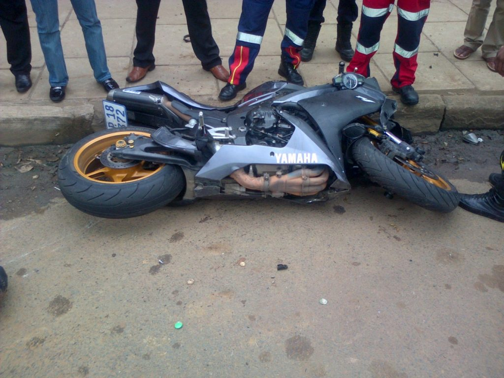 Pietermartzburg bike accident leaves one injured