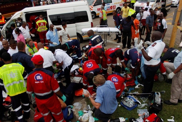 One Dead, Sixteen Others Injured In Horrific Crash in Durban