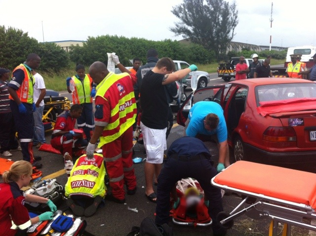Head On Collision On N2 Leaves One In Critical Condition
