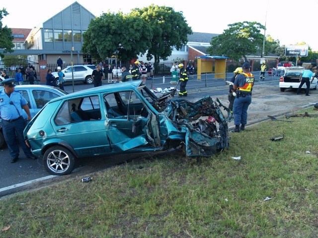 Three People Injured In Early Morning Accident In Bellville