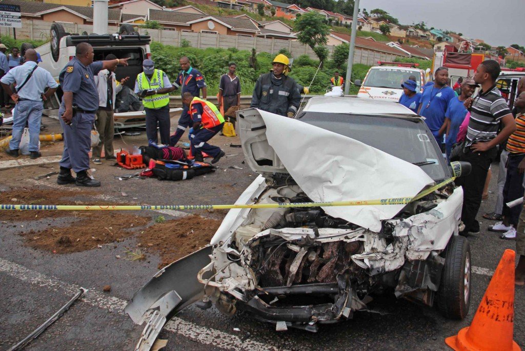 Nine injured in Isipingo taxi crash at intersection