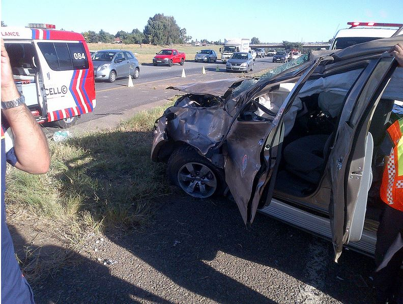 Fatal collision on the R57