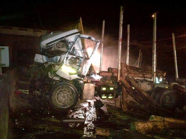 Truck Accident On The N3 In Pietermaritzburg