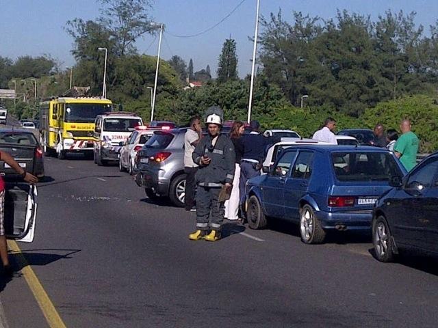 8 Car Pile Disrupts M4 Morning Traffic