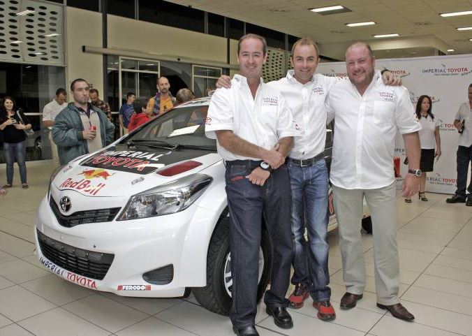 Imperial Toyota unveils Giniel De Villiers' new rally car