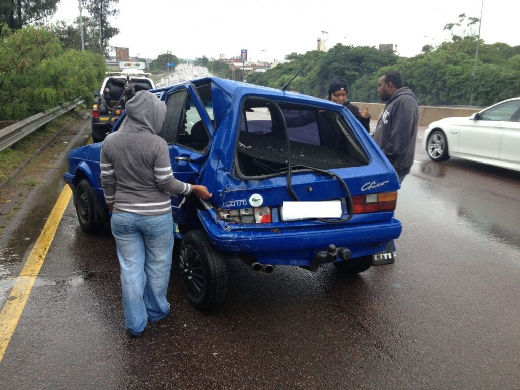 Wet weather causes chaos on Durban roads