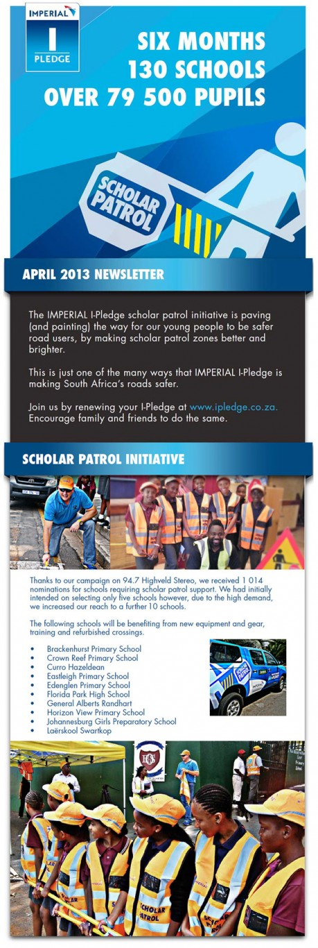 Imperial I-Pledge Scholar Patrol Initiative reaches more than 130 schools & 79,500 learners in 6 months