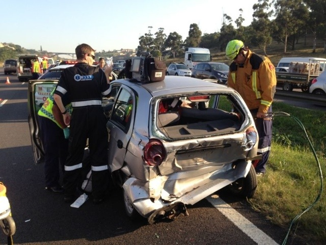 N2 Collision Leaves 2 Injured & Traffic Chaos