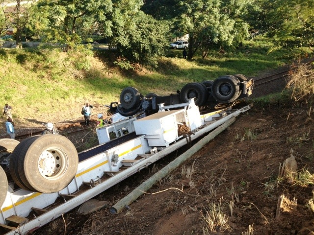 Truck accidents cause havoc in Pinetown