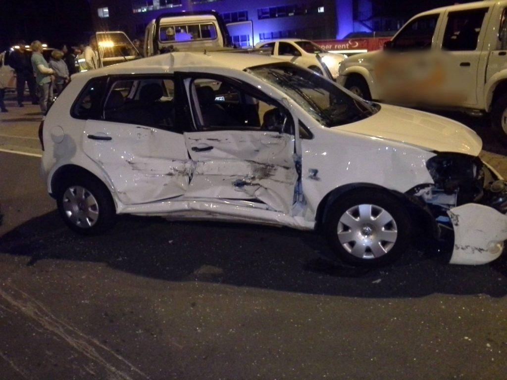 Man injured in Witfield collision in Boksburg