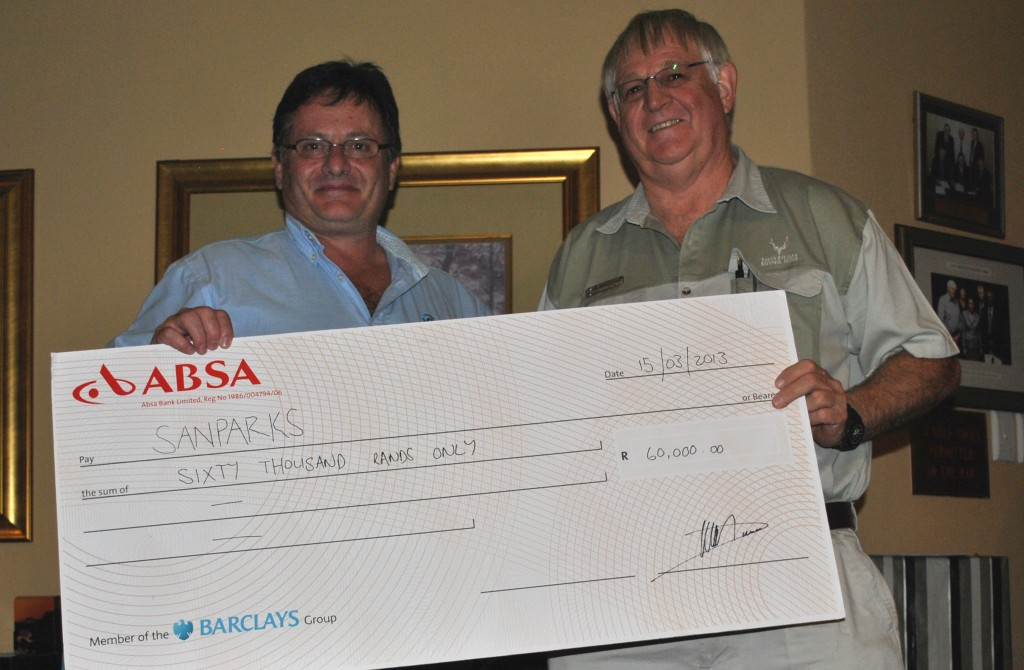 Ctrack Charity Golf Day 2013 raised R120,000 for Cotlands and SANPARKS