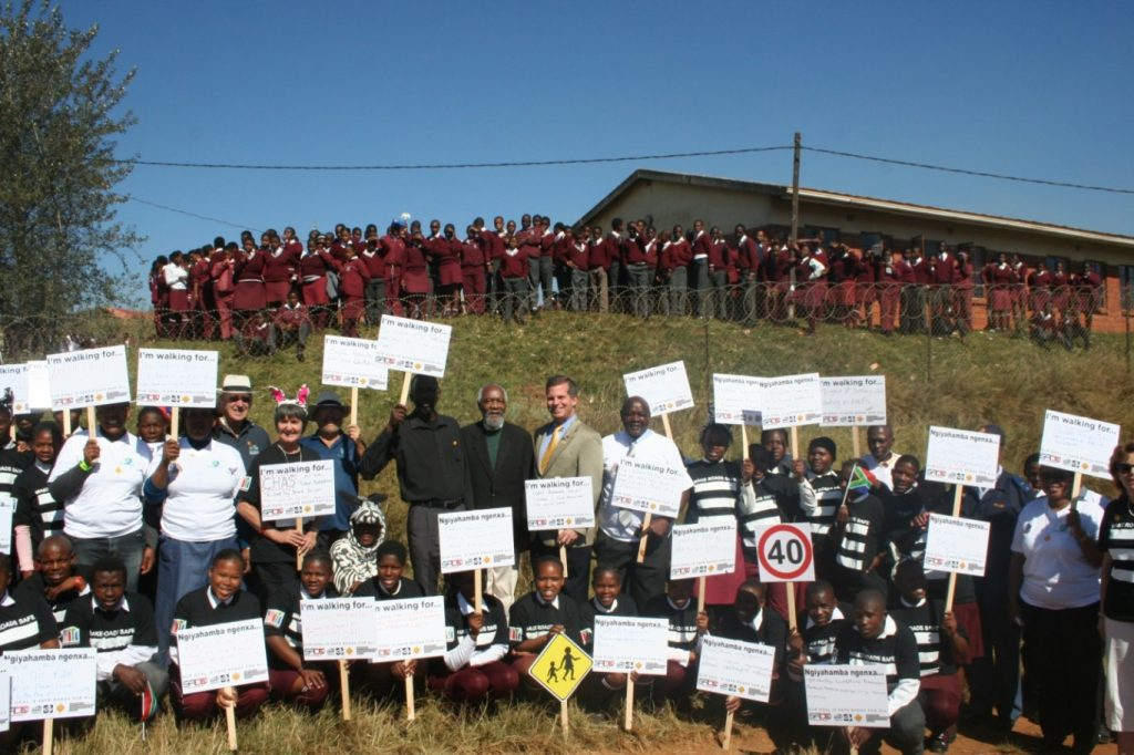 "A ""Long Short Walk"" with Imvunulo Senior Secondary School"