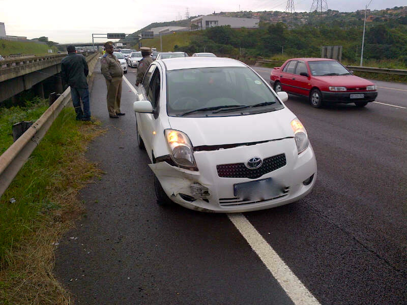 1 Person Injured In N2 Smash