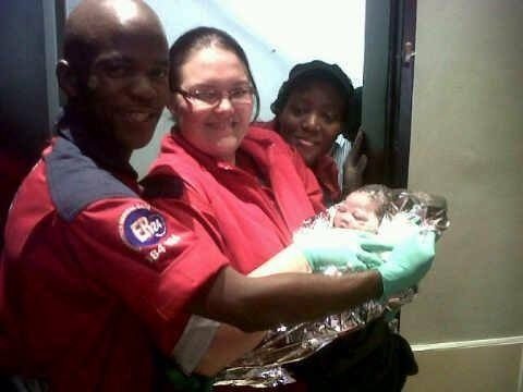 Woman gives birth at a Fast Food Outlet in Durban CBD