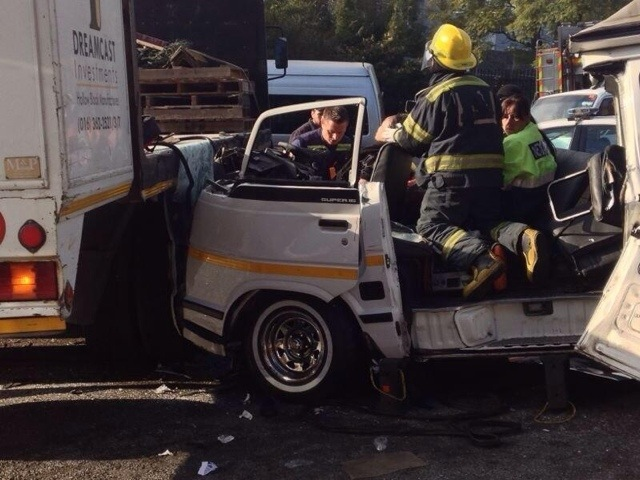 Fatal taxi accident in Hurlingham