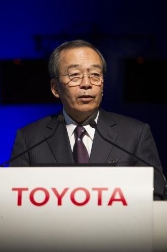 Father of Prius made chairman of Toyota