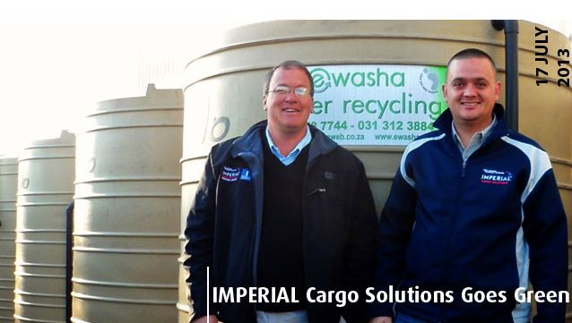 Imperial Logistics goes green with bacteria-powered wash bays and power saving initiative
