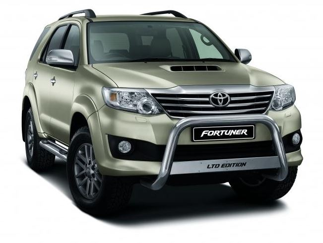 """Freedom Is Even More Beautiful"" Toyota Fortuner LTD Edition"