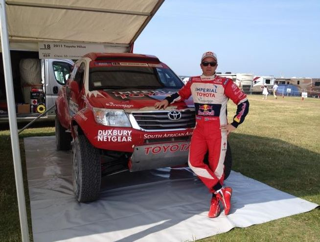 Giniel De Villiers honoured at Goodwood Festival of Speed