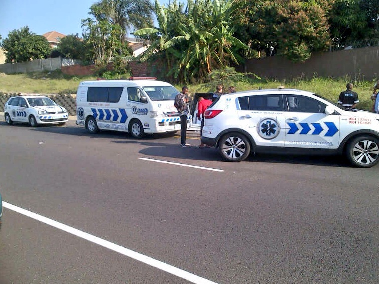 2 People Injured After M41 Tyre Blow Out