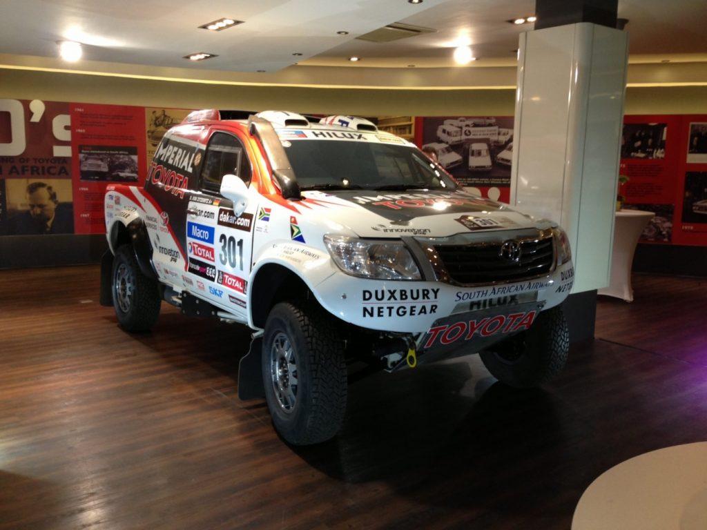 Duxbury Netgear a proud partner of the Toyota Dakar 2014 Team