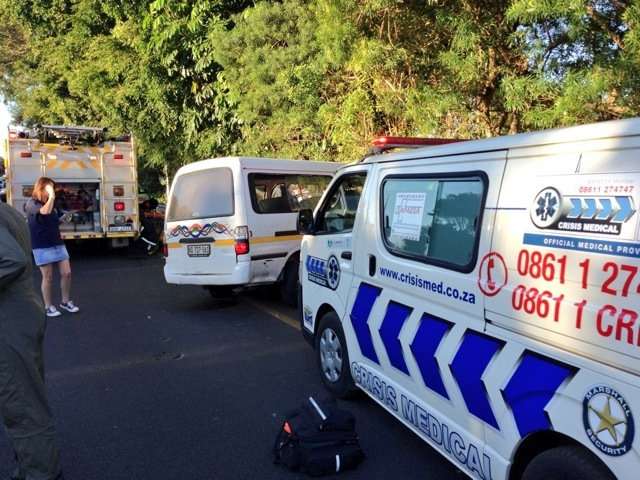 16 Injured In M4 Taxi Accident