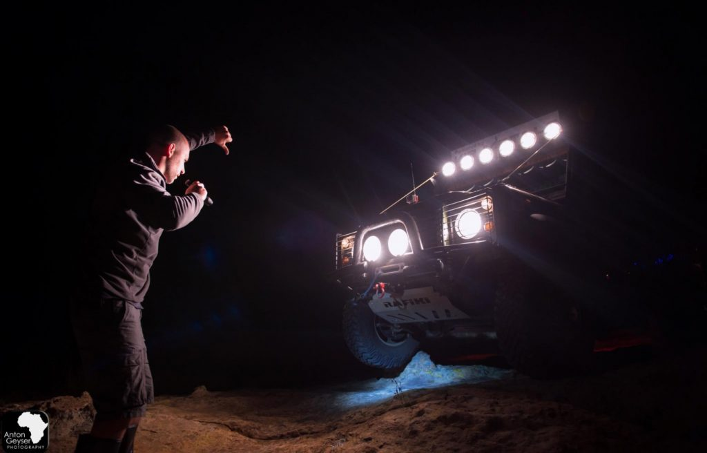 Gabriel Sponsors All-night 4x4 Overlanding Competition