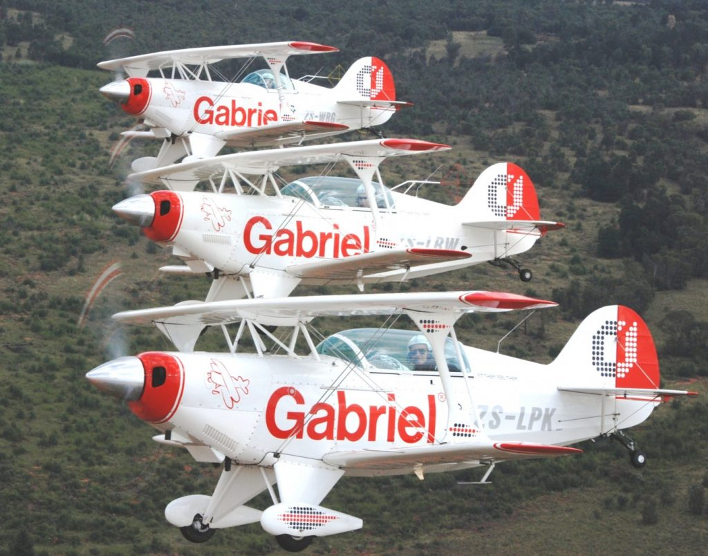 More Gabriel wings aerobatic displays this year