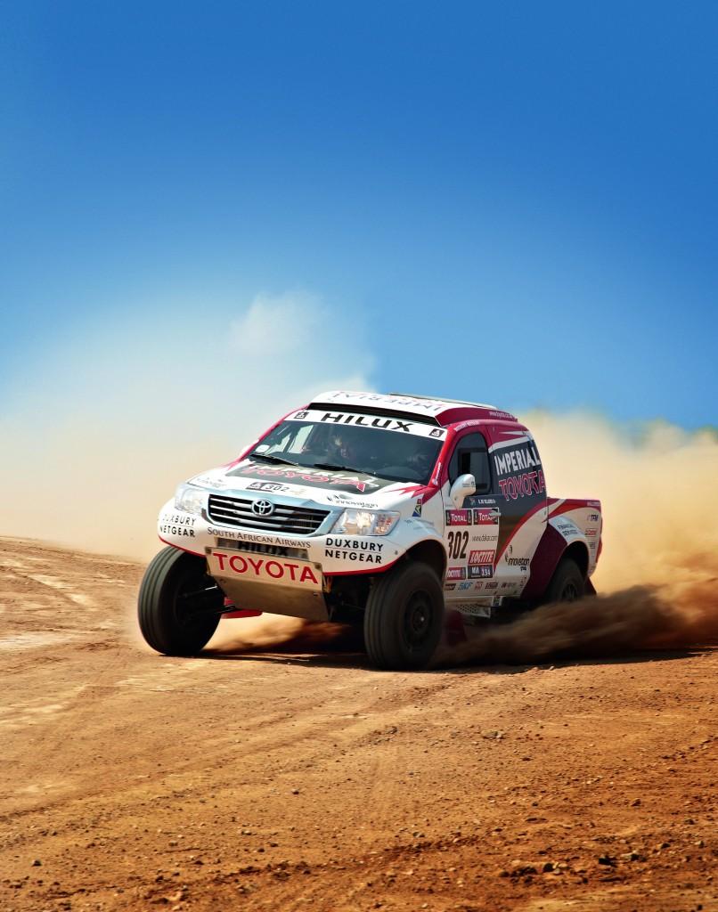 Toyota Motorsport's Preparations for 2014 Dakar Rally in full swing