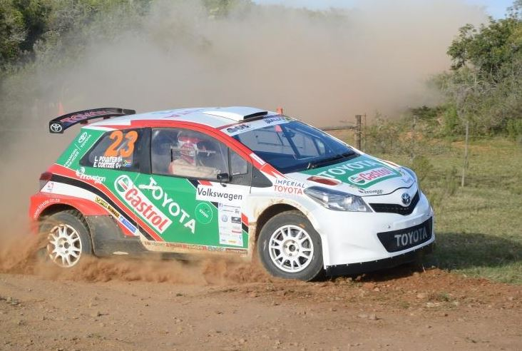 Toyota Motorsport Tackles Brand New Rally in Gauteng