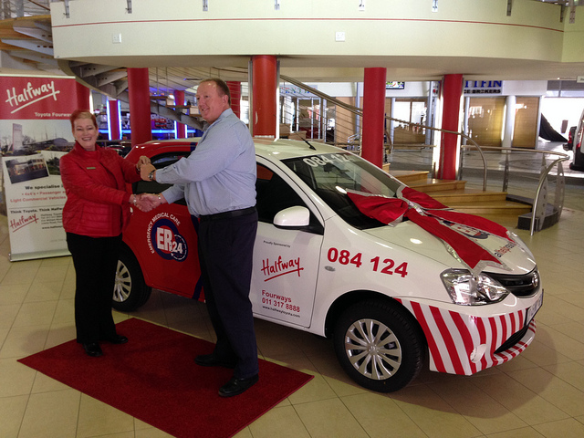 ER24 and Halfway Toyota Group agree on supply of vehicles and services