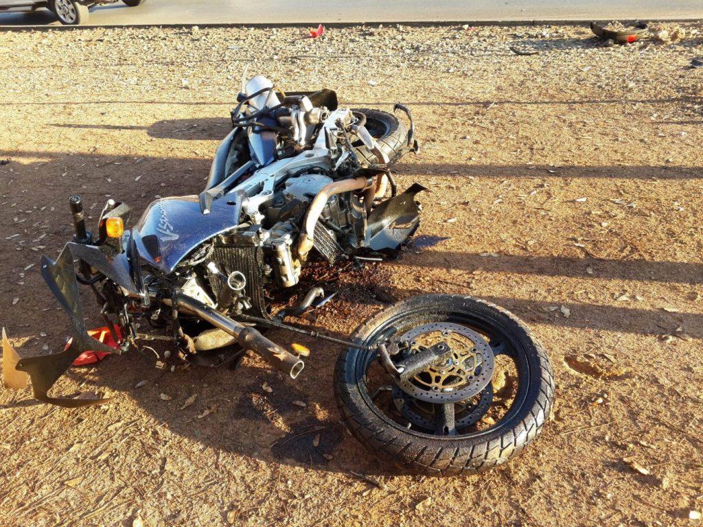 Motorcyclist injured in Boksburg collision