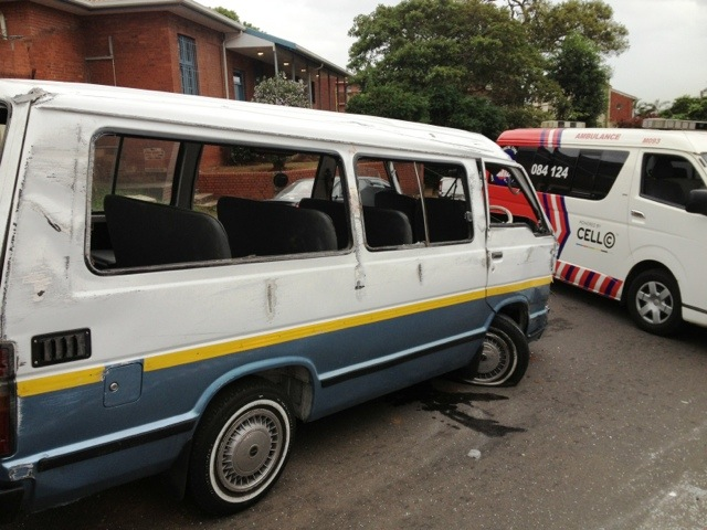 Taxi collision leaves 11 injured in Seaview