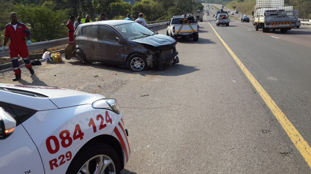 Motor vehicle accident on the N2 North bound