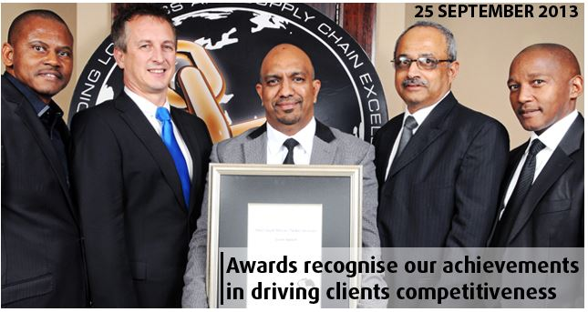 25th annual Logistics Achiever Awards recognize Imperial Logistics and achievements in driving client competitiveness