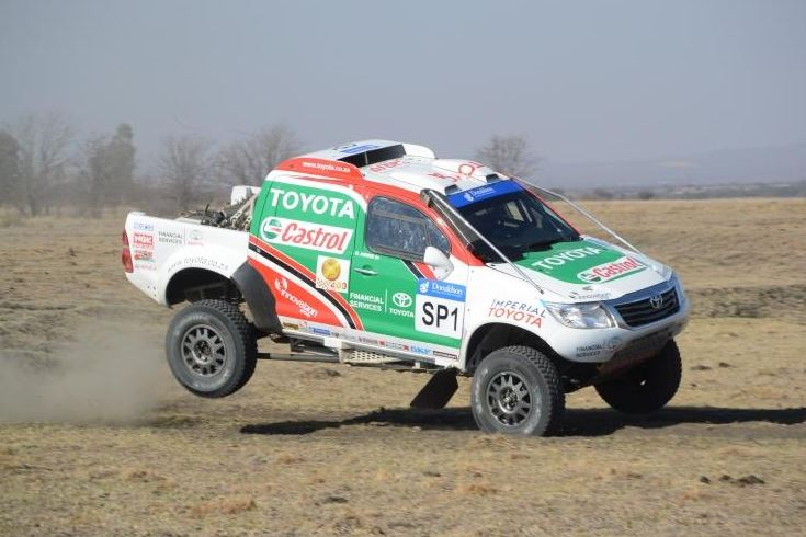 Castrol Team Toyota chasing repeat cross country title